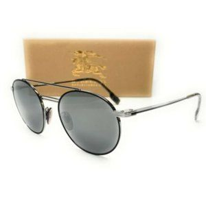 Burberry Men's Silver Matte White Sunglasses!